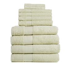 Concierge Collection Egyptian Cotton 10-piece Bath Towel Set