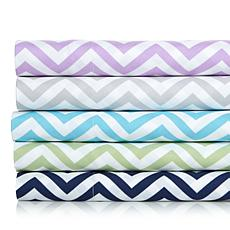 Concierge Collection Elements Chevron Sheet Set - Full