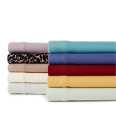 Concierge Collection Microfleece 4-piece Sheet Set - Full