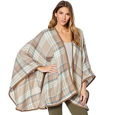 Concierge Collection Plaid Wrap