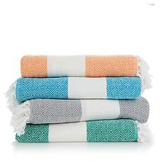 Concierge  Elements Diamond 100% Cotton Blanket