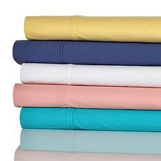 Concierge Prewashed 100% Cotton Percale 3-piece Twin Sheet Set