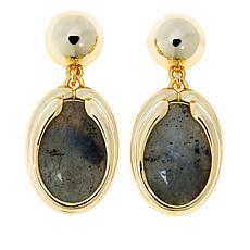 Connie Craig Carroll Jewelry Eva Labradorite Drop Earrings