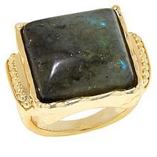 Connie Craig Carroll Jewelry Josephine Labradorite Square Ring