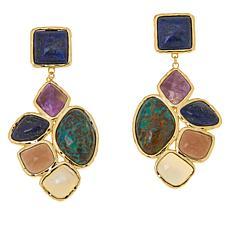 Connie Craig Carroll Jewelry Rayna Multi-Gemstone Drop Earrings