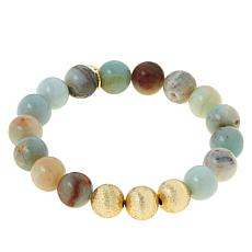 Connie Craig Carroll Jewelry Reese Gemstone Bead Stretch Bracelet