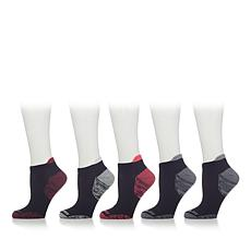 Copper Fit™ 5 Pair Ladies Cooling Low-Cut Socks