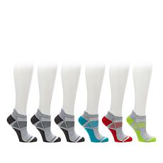 Copper Fit™ 6 Pair Unisex Sport Performance Socks