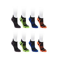 Copper Fit 8 Pair Unisex Sport Performance Socks