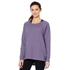 Copper Fit™ French Terry Raglan-Sleeve Sweatshirt