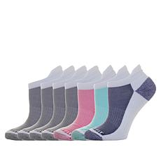 Copper Fit™ Women's 7 Pair Ankle Guard Low Cut Socks