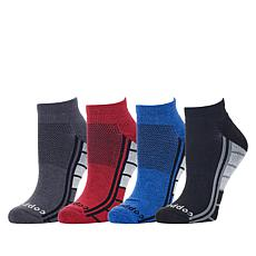 Copper Life 4-pack Men's Ankle Compression Sock