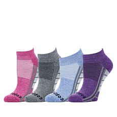 Copper Life 4-pack Women's Ankle Compression Sock