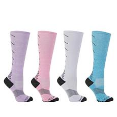 Copper Life 4-pack Women's OTC Compression Socks