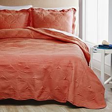 Cottage Collection Coastal 3-piece Quilt Set