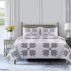 Country Living Home Collection Bear Paw 3-piece Quilt Set