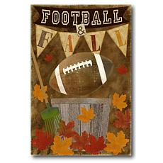 """Courtside Market Football Fall 20""""x 30"""" Decal"""