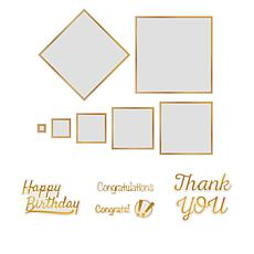 Couture Creations Cut, Foil and Emboss Sentiments Dies