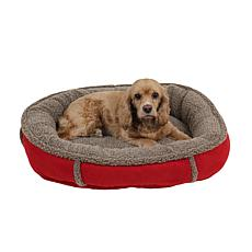 CPC Faux Suede Comfy Cup Pet Bed - Small