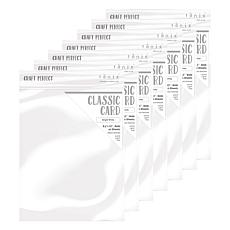 Craft Perfect Classic Card Bright White 7-Pack