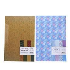 "Crafter's Companion 12"" x 18"" Paper Packs - Softly Fall/Christmas"