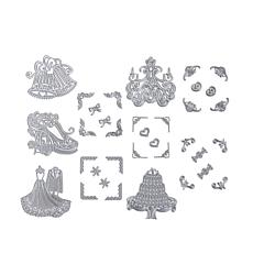 Crafter's Companion 5-pack Celebration Stackable Dies