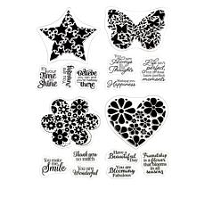 Crafter's Companion Abstract Shapes Coloring Stamps