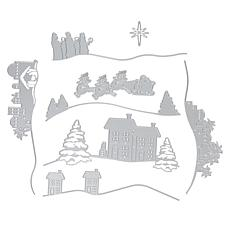 Crafter's Companion Christmas Create a Scene Edge'able Dies