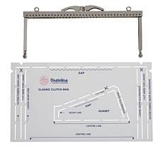 Crafter's Companion Classic Clutch Bag Threaders Hardware Kit