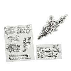 Crafter's Companion Clear Birthday Stamps by Chloe