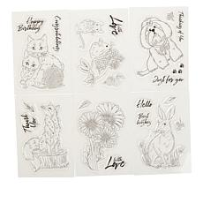 Crafter's Companion Furry Friends Clear Stamps