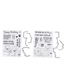 Crafter's Companion Gemini Cats & Dogs Over-the-Edge Stamp & Die Sets