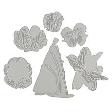 Crafter's Companion Gemini Elements Daffodil & Pansy Double-Sided Dies