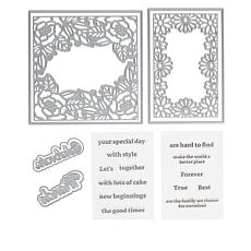 Crafter's Companion Gemini Floral Frame Stamps and Dies