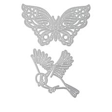 Crafter's Companion Gemini Flutterby Engraving Dies