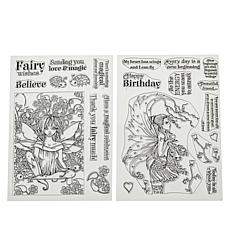 Crafter's Companion Molly Harrison Clear Stamps - Charmed