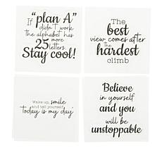 Crafter's Companion Motivational Inspirational Sayings Stamps
