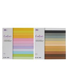 Crafter's Companion Pastels and Neutrals Textured Cardstock