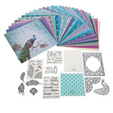 Crafter's Companion Peacock Collection Card Kit
