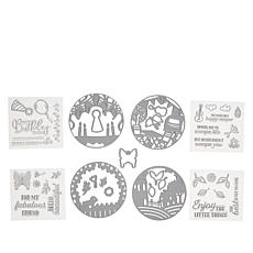 Crafter's Companion Pop-Out Scene Stamp and Die Set - Auto-Ship®