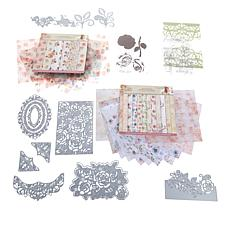 Crafter's Companion Rose Garden Papercraft Kit