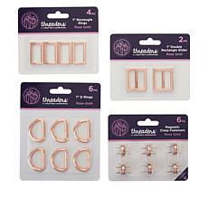Crafter's Companion Rose Gold Threaders Hardware