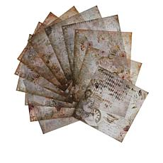 Crafter's Companion Sara Signature 12-Sheet Vintage Diary  Vellum Pad
