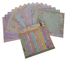 """Crafter's Companion Sara Signature Garden Party 12"""" x 12"""" Paper Pad"""