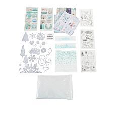 Crafter's Companion Sara Signature Watercolor Christmas Papercraft Kit