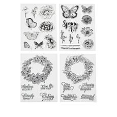 Crafter's Companion Spring is in the Air Stamp Set