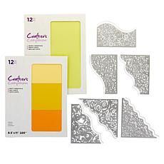 Crafter's Companion Tessellating Dies and Paper Bundle