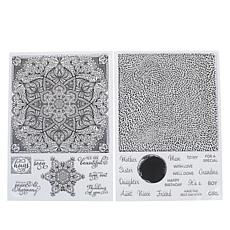 Crafter's Companion Texture Clear Background Stamp