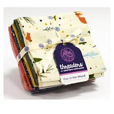 Crafter's Companion Threaders Fat Quarter Bundle - Fox in the Woods