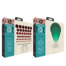 Crafter's Edge Around We Go Circles Quilting Die Bundle